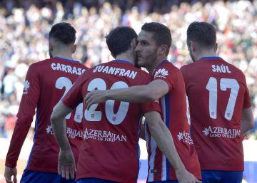 Koke lidera la goleada del Atlético al Granada