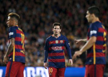 El Barcelona se desploma