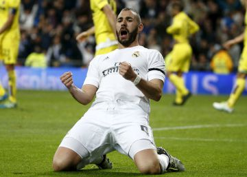El Real Madrid golea con facilidad al Villarreal