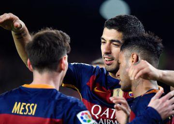 Messi despierta al Barça
