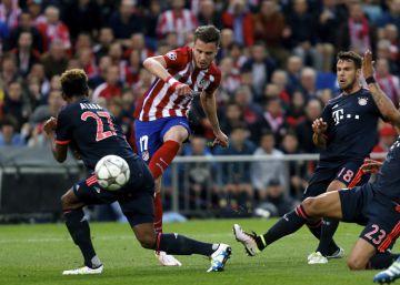 Saúl mantiene la fe del Atlético
