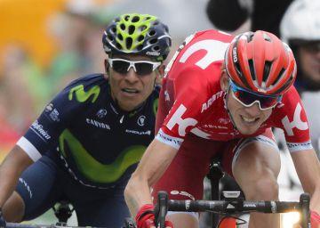 Ataque, etapa y liderato de Nairo en Suiza