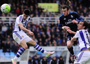 Bale mantiene al Madrid en la lucha por la Liga