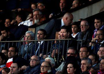 """Simeone: """"Ahora cuentan los puntos"""""""