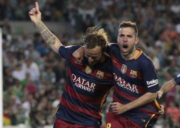 El Betis auxilia al Barça