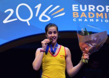 Carolina Marín ya es bicampeona de Europa