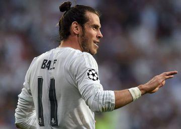 Bale, baja ante el Valencia por un esguince de rodilla