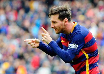 El Barcelona toca la Liga con la mano