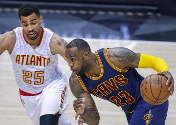 LeBron sella el pleno de Cleveland ante Atlanta