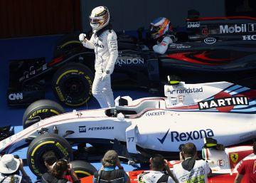 Alonso entra en la Q3 y Hamilton logra la pole