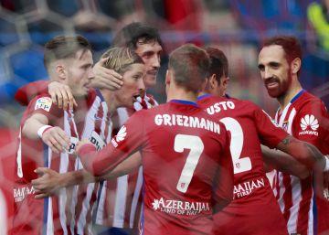 Torres y Griezmann afilan al Atlético para la final
