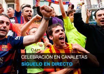 Directo | Barcelona celebra el título de la Liga BBVA