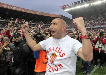 """Abelardo: """"Esta gente se merece tener al equipo en la Liga BBVA"""""""