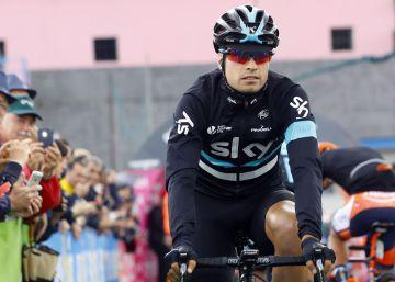 Landa, enfermo, abandona el Giro en la décima etapa