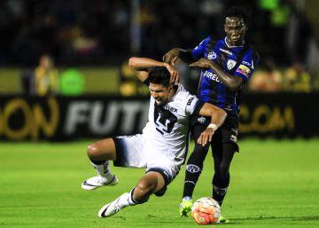 Independiente del Valle hiere a los Pumas