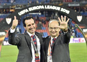 """Emery: """"Es nuestra competición"""""""
