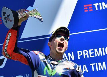 Mayúscula victoria de Lorenzo ante Márquez sobre la línea