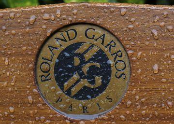 La lluvia trastoca Roland Garros