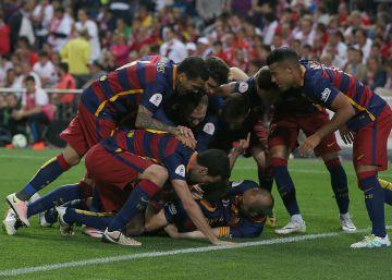 El Barça gana al Sevilla y se lleva la Copa