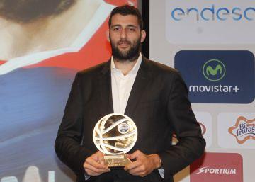 Ioannis Bourousis, MVP de la Liga Endesa