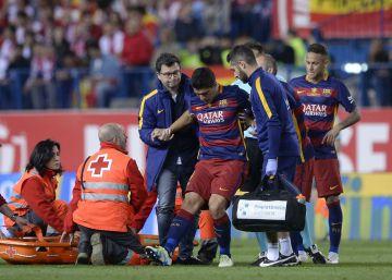 Luis Suárez se rompe, pero viajará a la Copa América
