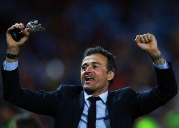 La Copa corona a Luis Enrique
