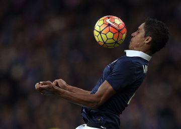 Varane, baja para la Eurocopa