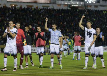 Los jugadores de Pumas buscan la clasificación ante un aguerrido Independiente del Valle.