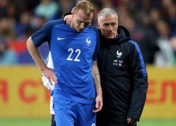 Mathieu, duda para la Eurocopa