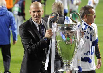 Zidane y sus finales de Champions