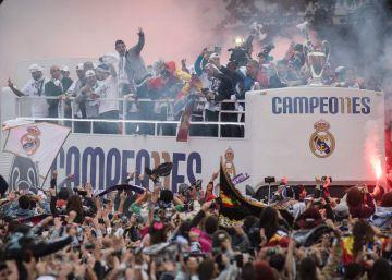 De Cibeles al Bernabéu, así va a ser la celebración del Real Madrid