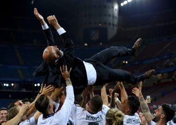 Zidane, de Segunda B al 'Olimpo'