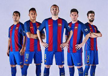 Así es la nueva camiseta del Barça