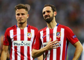 """Juanfran: """"Gabi levantará la Champions más tarde o más temprano"""""""