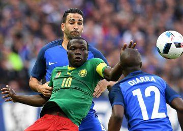 Rami pierde una oportunidad con Francia