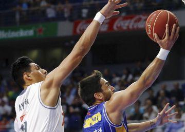Ayón derrite al Murcia y pone al Madrid en las semifinales