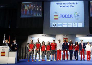 Las olímpicas españolas desfilarán con pantalones