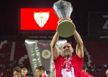 El Sevilla frena a Monchi