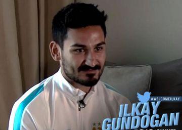 Ilkay Gündogan, primer fichaje del City de Guardiola