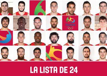 Scariolo presenta una primera lista de 24 jugadores