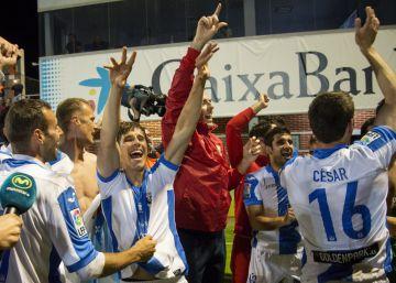 El Leganés asciende a Primera por primera vez