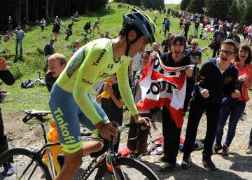 Contador le da a Froome donde más le duele