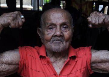 Manohar Aich, el centenario 'Hércules de Bolsillo'