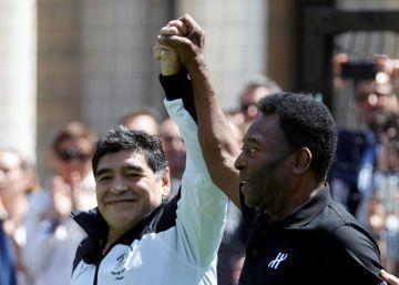 """Maradona: """"Messi no puede ser líder"""""""