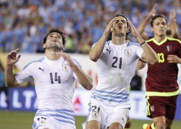 Uruguay cae con estrépito