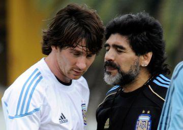 Messi no tiene por qué ser Maradona