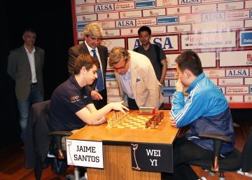 Yi Wei, de 17 años, buscará su tercer triunfo en León frente al pentacampeón Anand