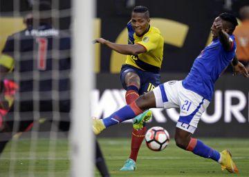Ecuador golea a Haití y rompe su maldición en la Copa América