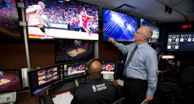 Replay Center de la NBA.