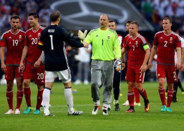 Kiraly puede convertirse en el más veterano en una Eurocopa